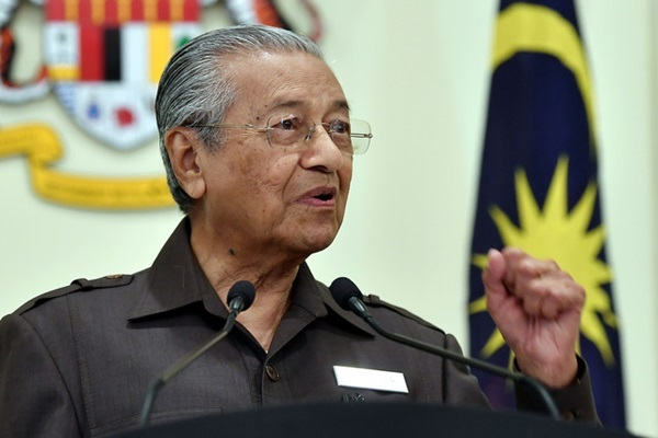 Resumption of ECRL no trade-off for Jho Low: Mahathir | Daily