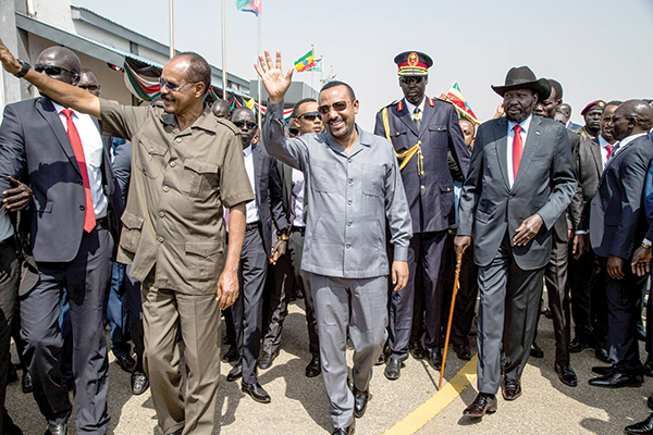 Ex-foes seek to boost S Sudan peace | Daily Express Online