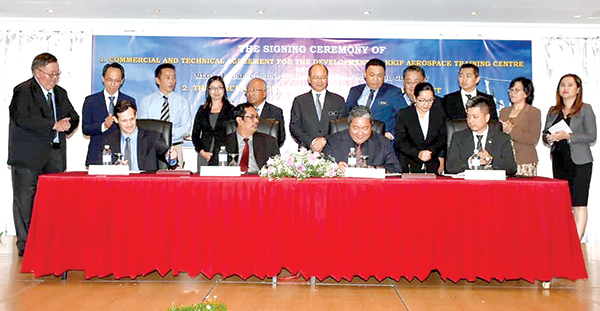 A first for Sabah in aerospace training | Daily Express