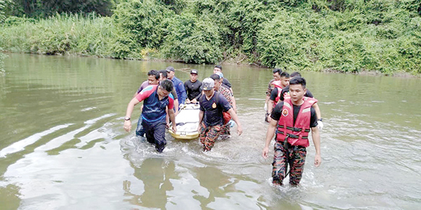 Missing man found drowned in K'gau river | Daily Express