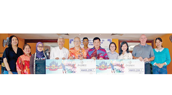2 NGOs get RM55,000 each from charity run - Daily Express