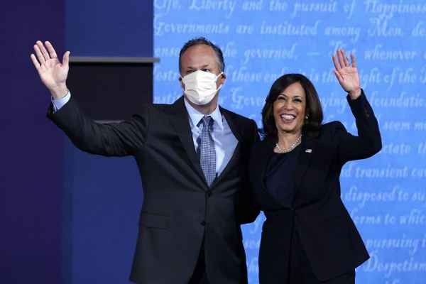 Kamala Harris S Husband Doug Emhoff To Be America S First Second Gentleman Daily Express Online Sabah S Leading News Portal