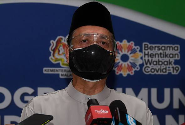 Public encouraged to wear double masks, face shields in crowded areas   Daily Express Online - Sabah's Leading News Portal